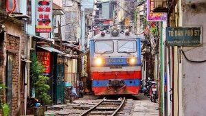 train de rue hanoi